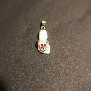 Jewelry - Flip Flop Flower Pendant
